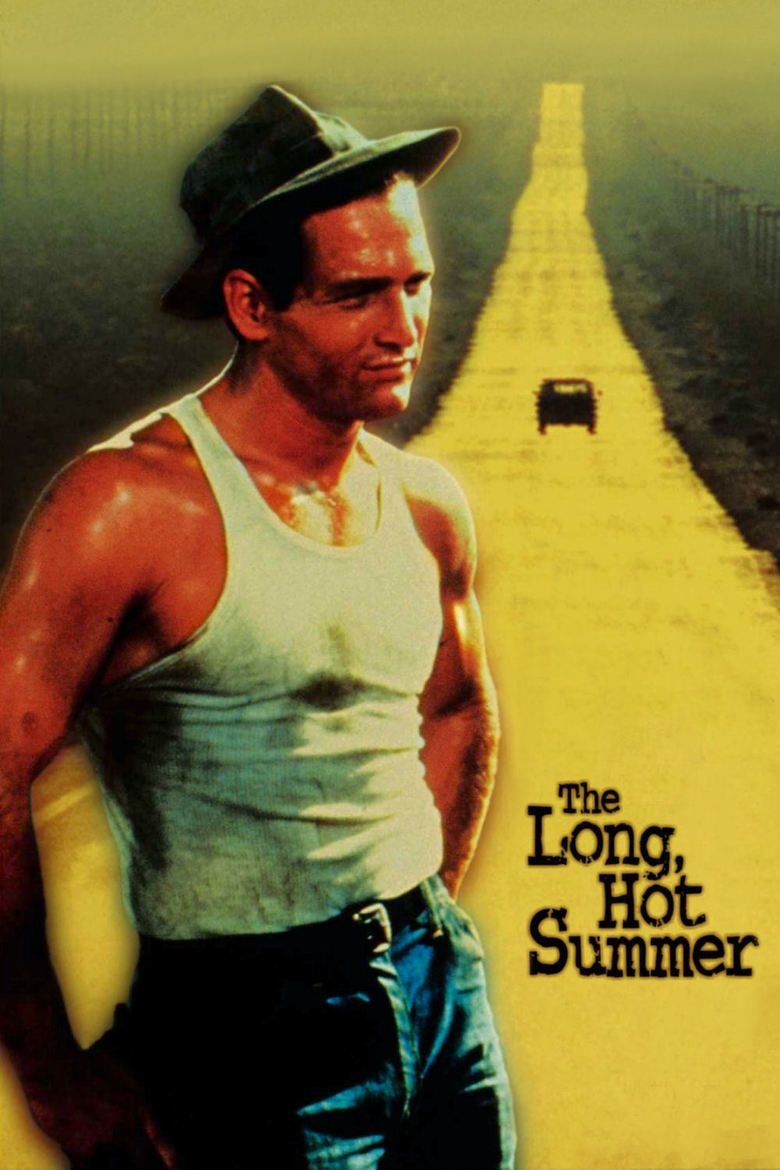 The Long, Hot Summer movie poster