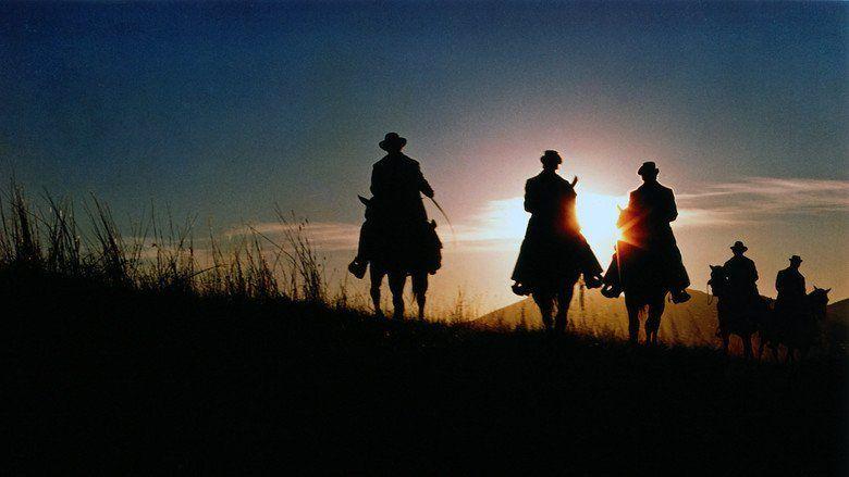The Long Riders movie scenes
