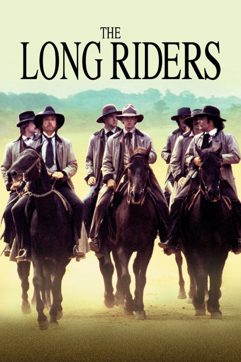 The Long Riders movie poster
