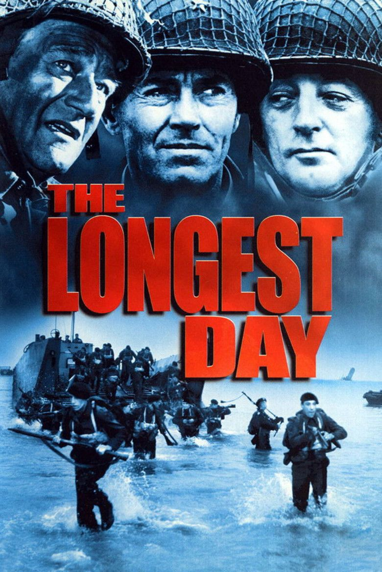 The Longest Day (film) movie poster