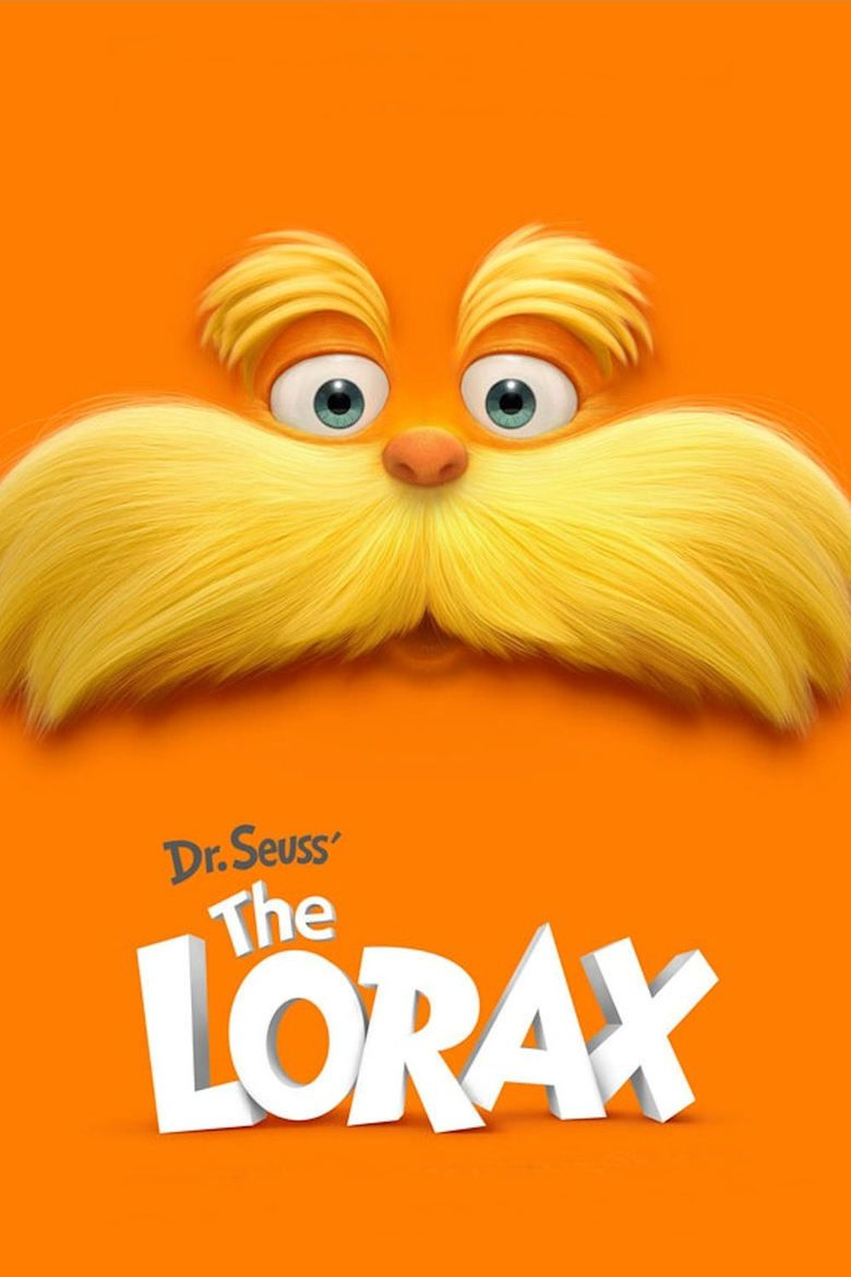 The Lorax (film) movie poster
