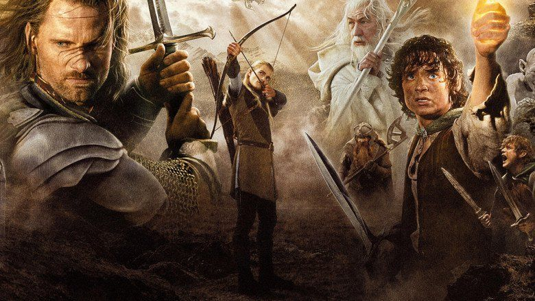 The Lord of the Rings: The Return of the King movie scenes