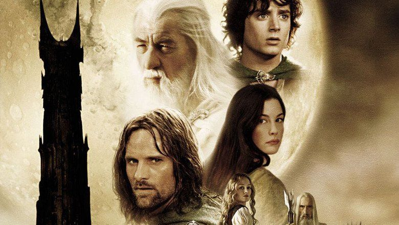 The Lord of the Rings: The Two Towers movie scenes