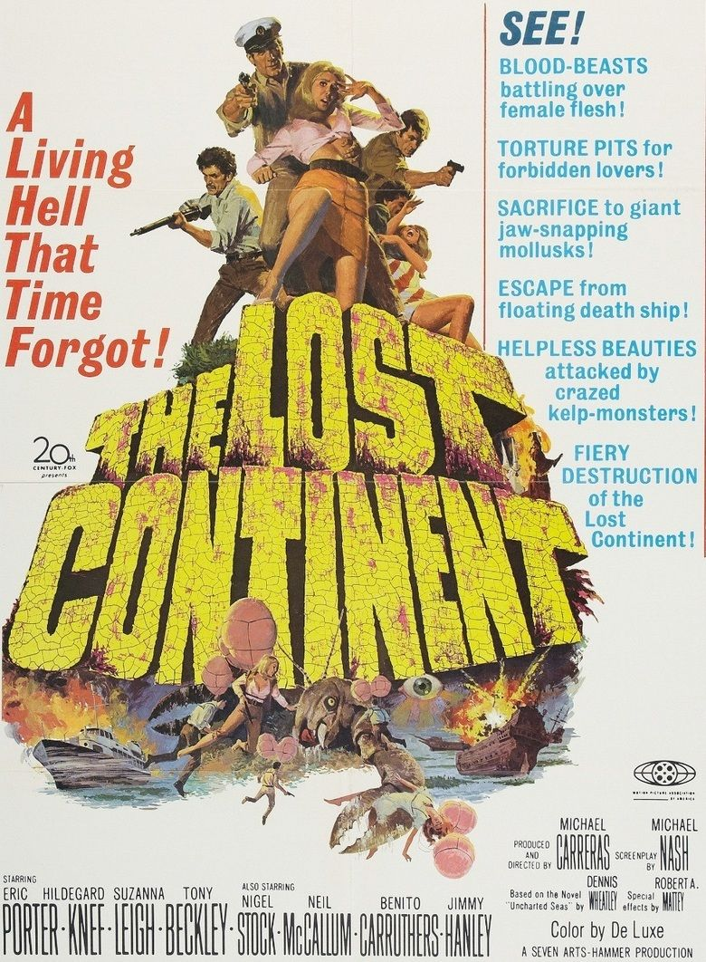 The Lost Continent (1968 film) movie poster