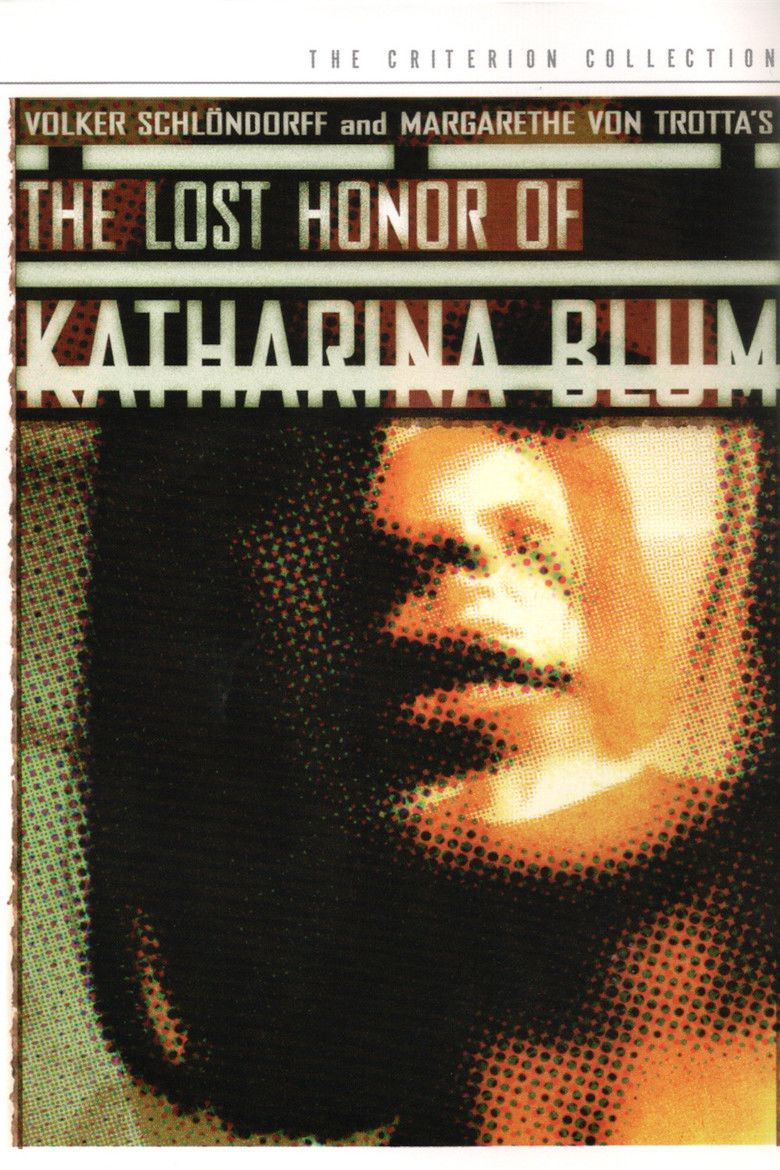The Lost Honour of Katharina Blum (film) movie poster