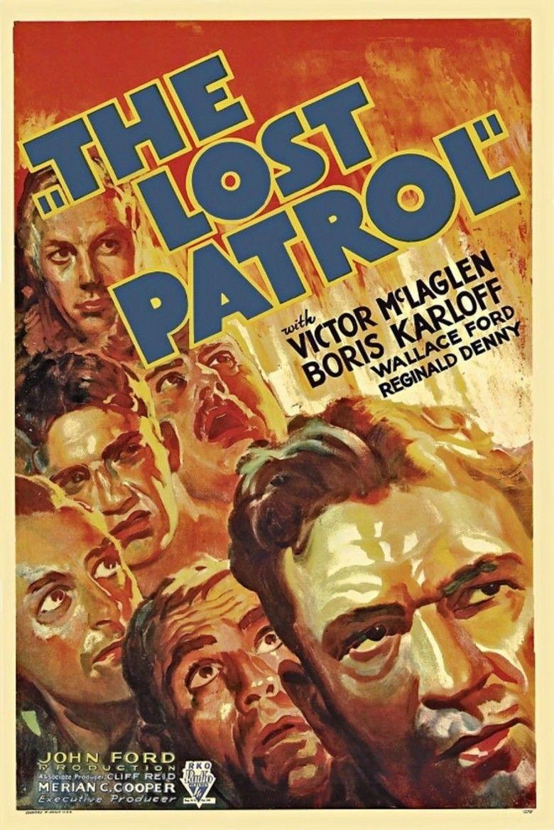 The Lost Patrol (1934 film) movie poster
