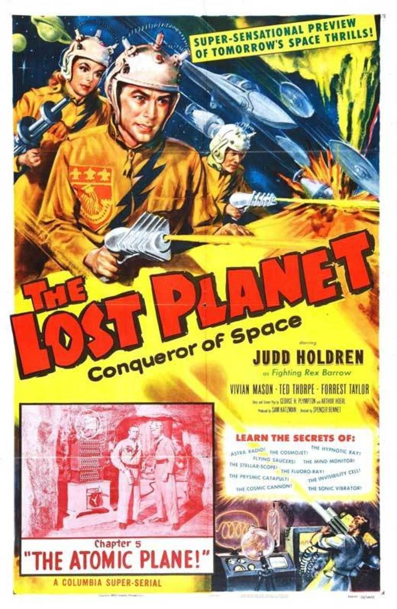 The Lost Planet movie poster