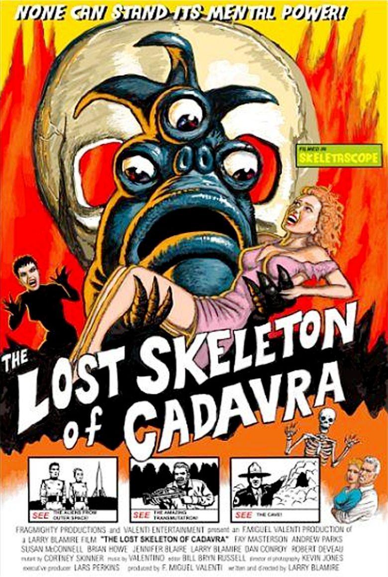 The Lost Skeleton of Cadavra movie poster