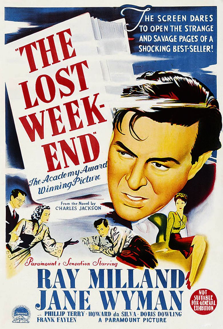 The Lost Weekend (film) movie poster