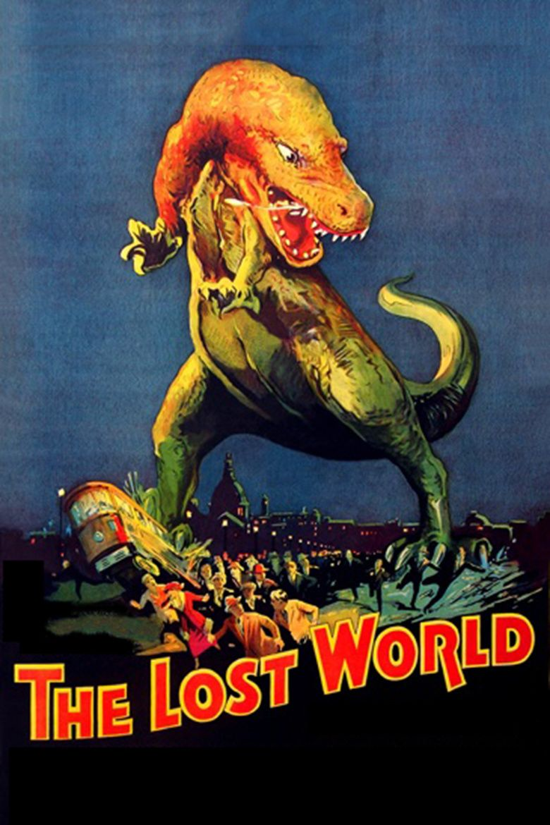 The Lost World (1925 film) movie poster