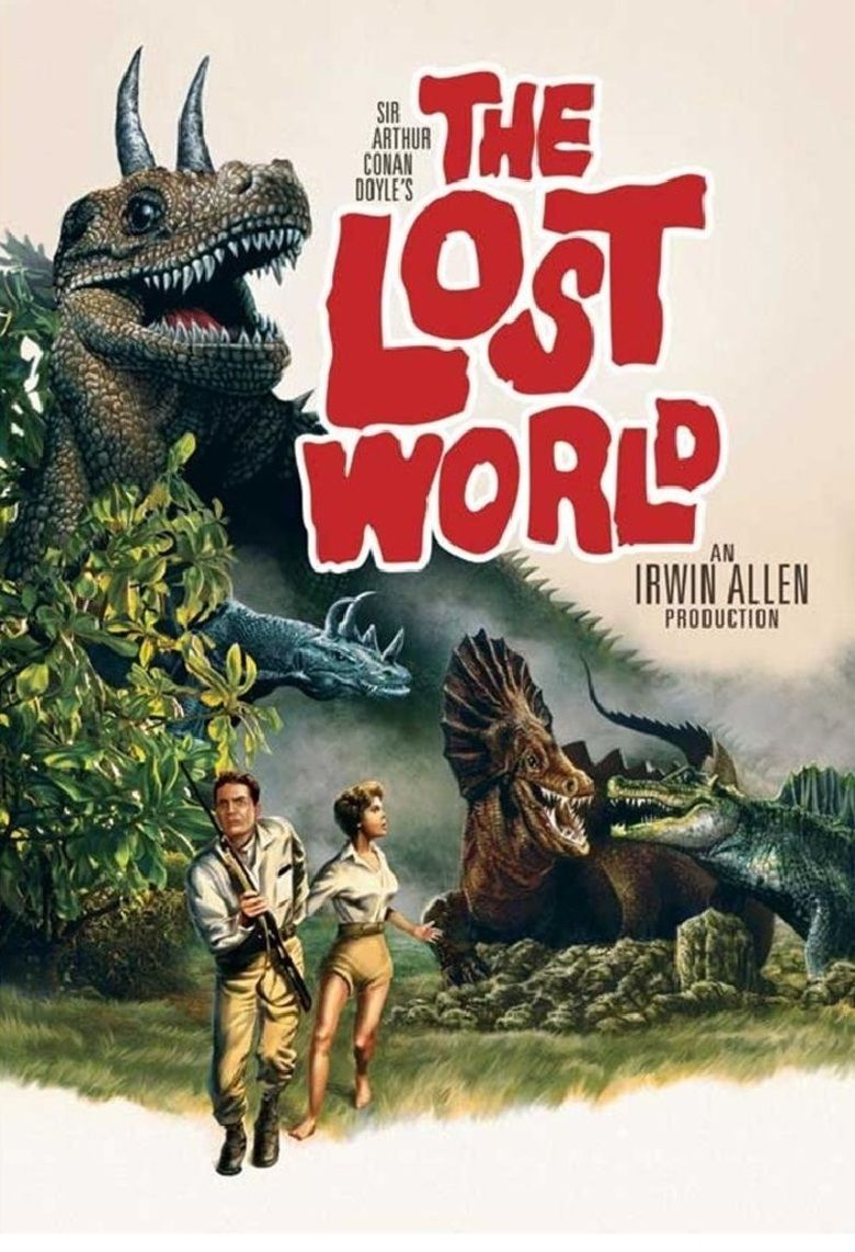 The Lost World (1960 film) movie poster