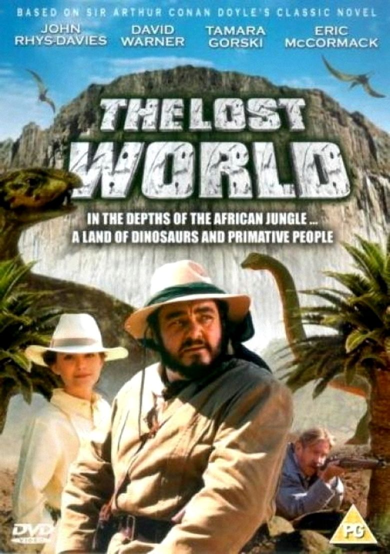 The Lost World (1992 film) movie poster