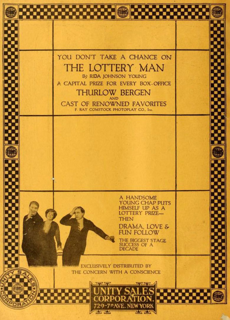 The Lottery Man movie poster