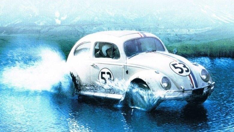 The Love Bug movie scenes
