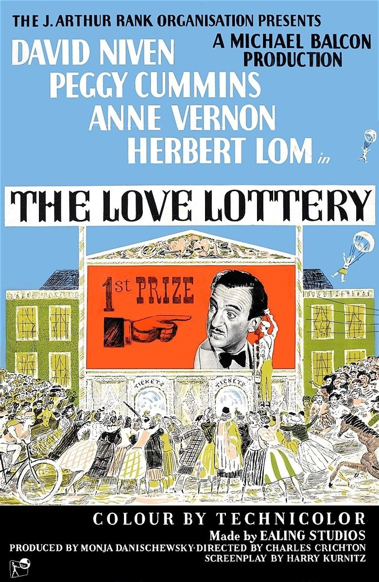 The Love Lottery movie poster