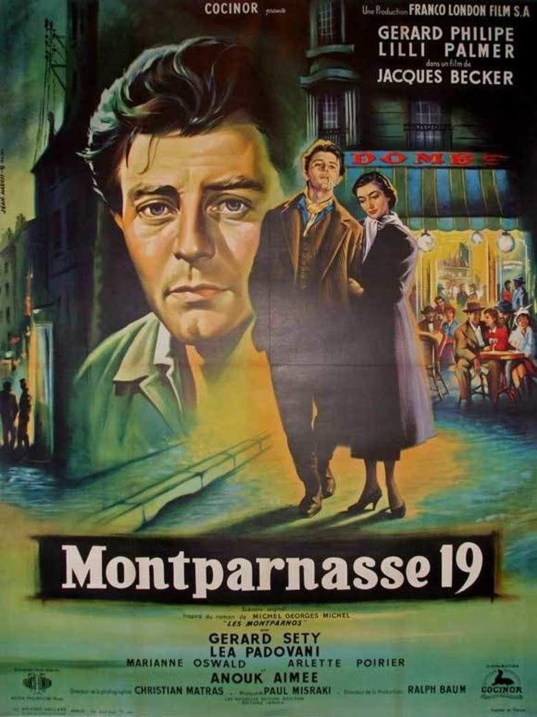 The Lovers of Montparnasse movie poster