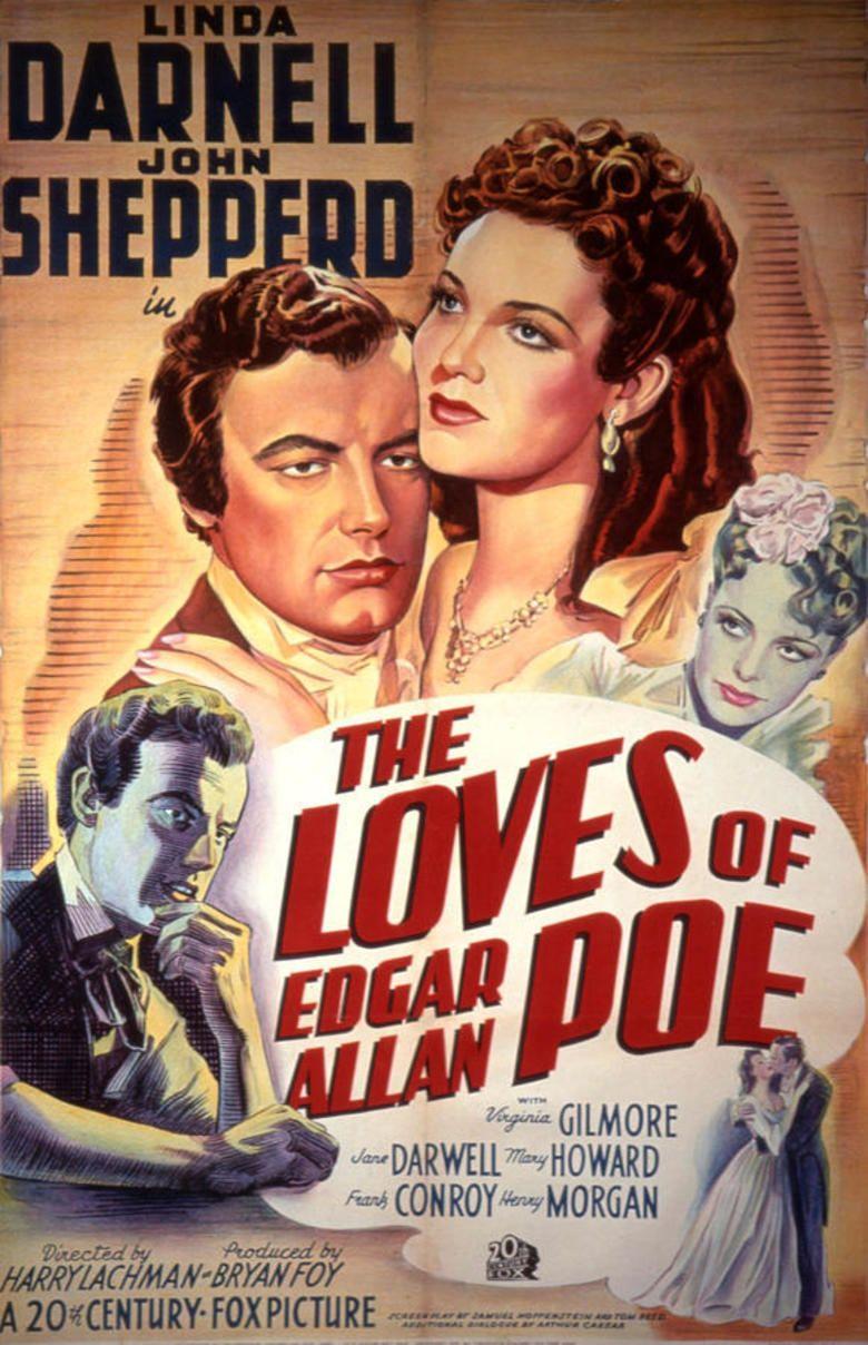 The Loves of Edgar Allan Poe movie poster