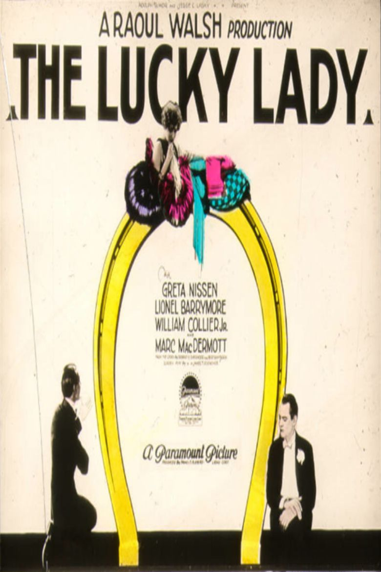 The Lucky Lady movie poster