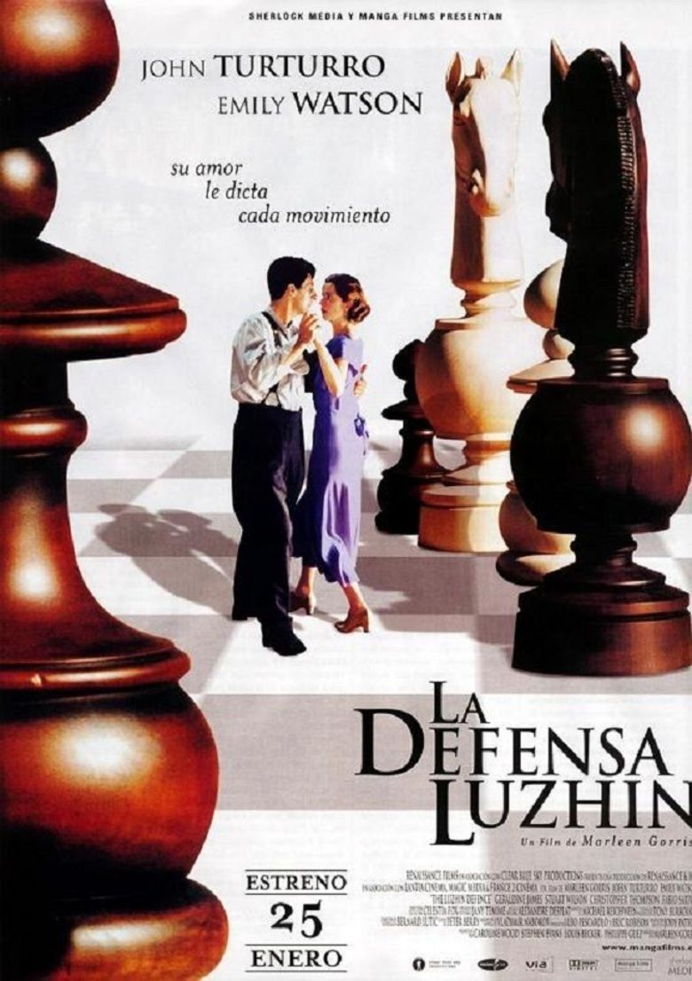 The Luzhin Defence movie poster