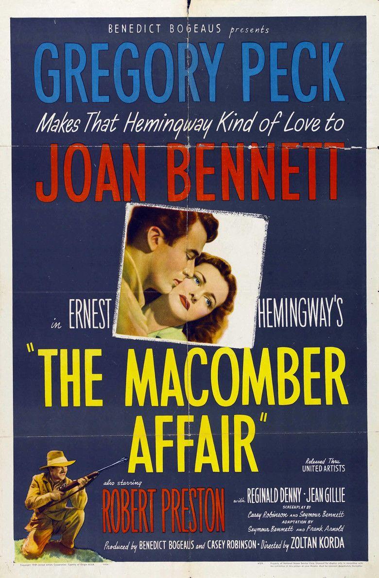 The Macomber Affair movie poster