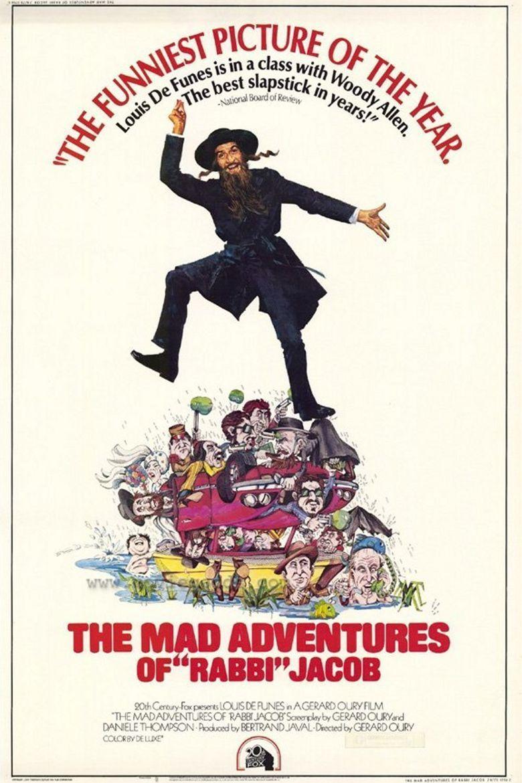 The Mad Adventures of Rabbi Jacob movie poster