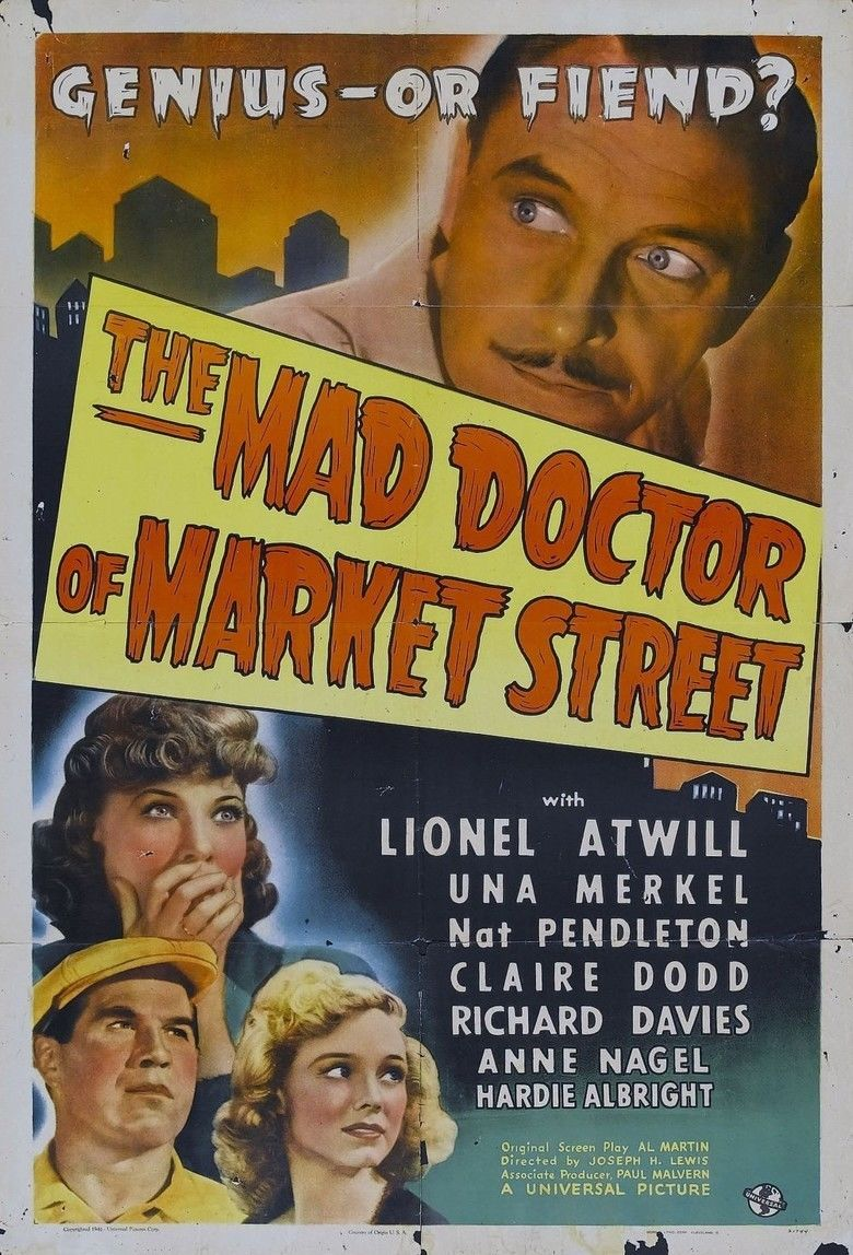 The Mad Doctor of Market Street movie poster
