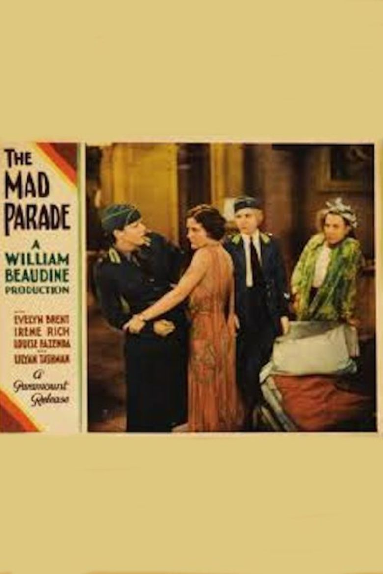 The Mad Parade movie poster