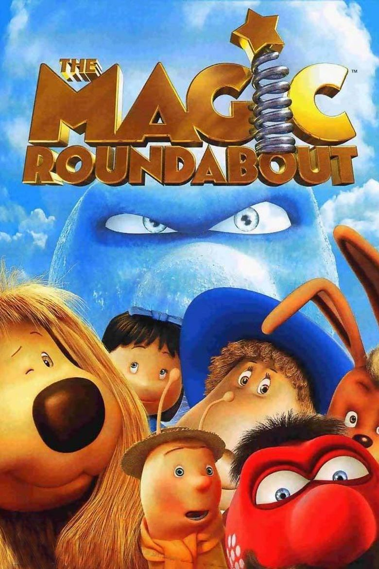 The Magic Roundabout (film) movie poster