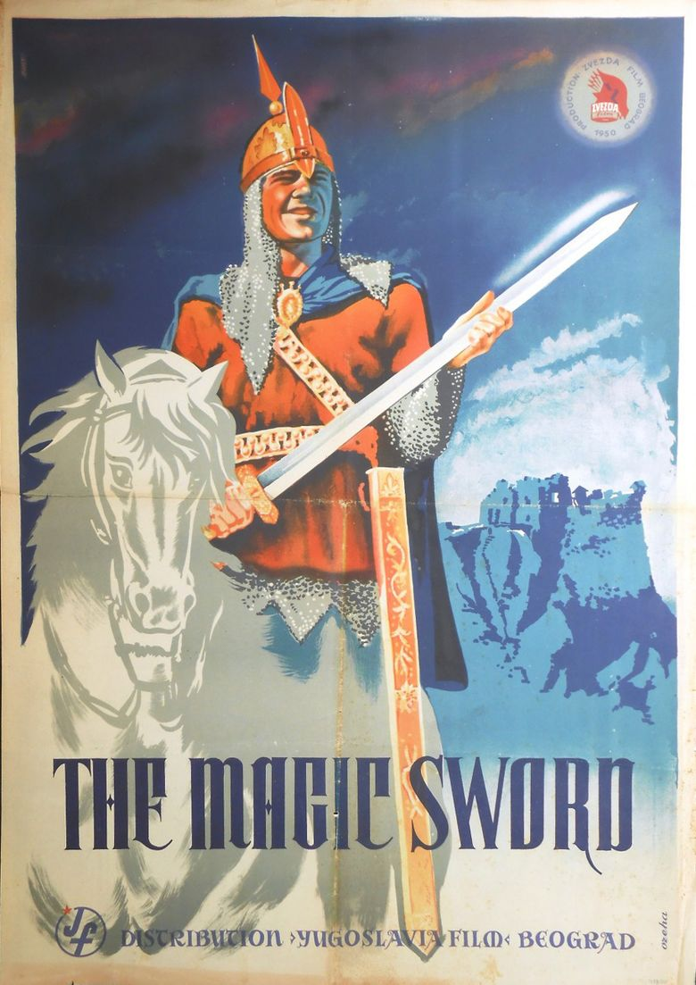 The Magic Sword (1950 film) movie poster