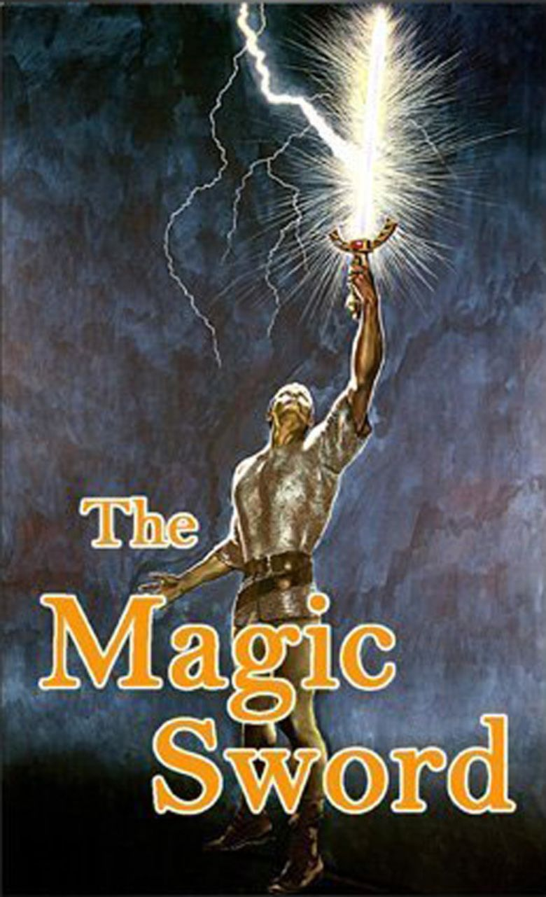 The Magic Sword (1962 film) movie poster