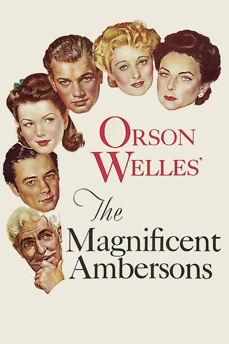 The Magnificent Ambersons (film) movie poster