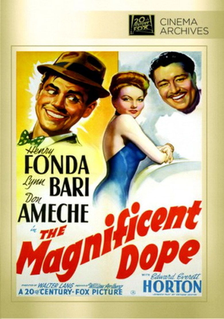 The Magnificent Dope movie poster