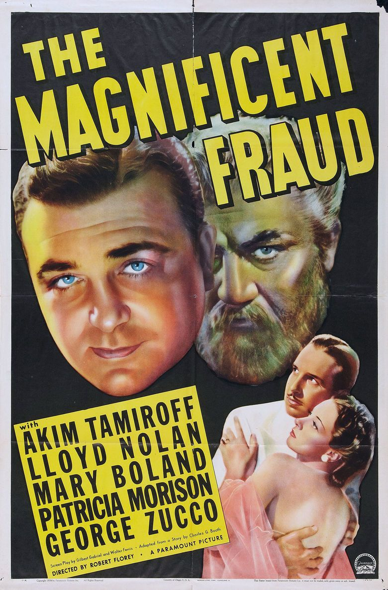 The Magnificent Fraud movie poster
