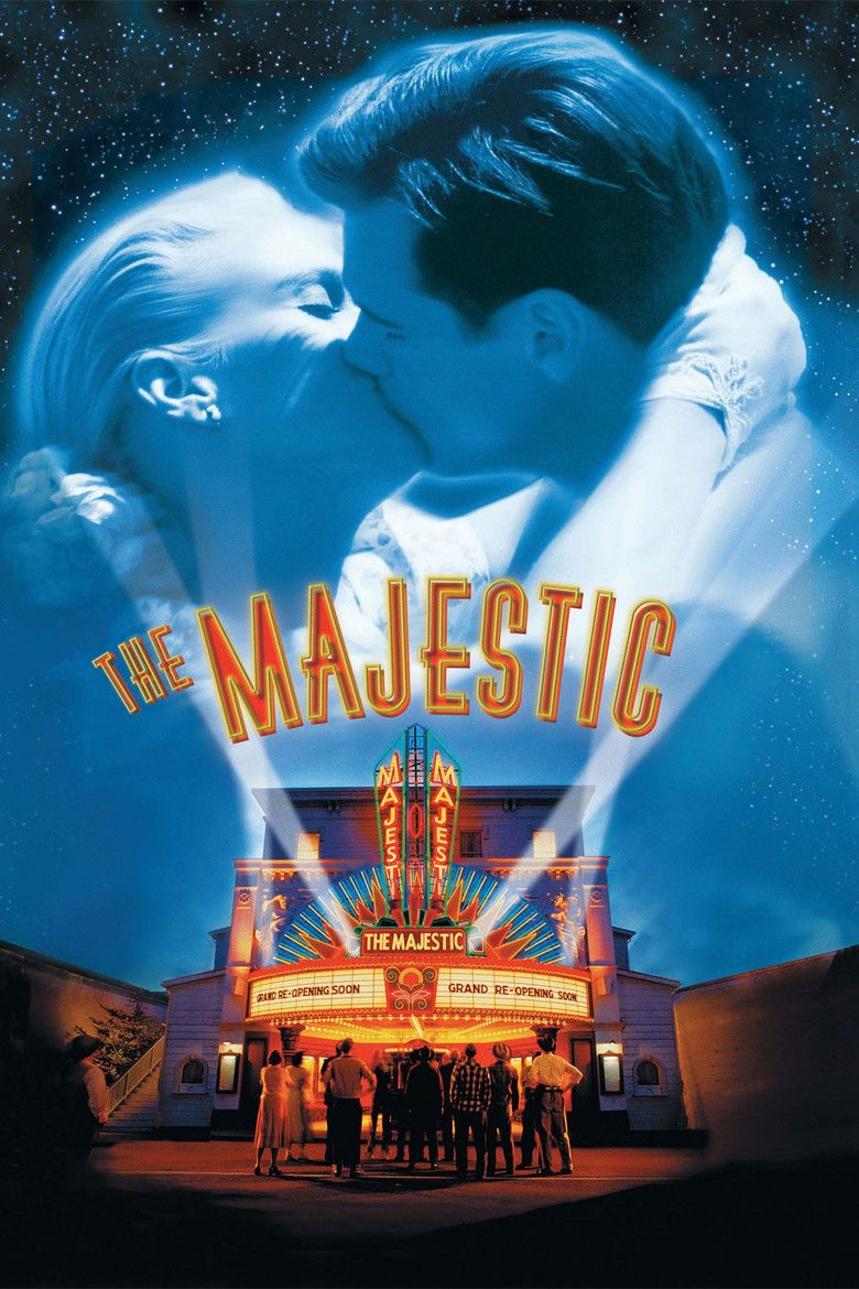 The Majestic (film) movie poster