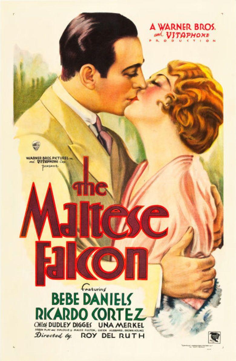 The Maltese Falcon (1931 film) movie poster