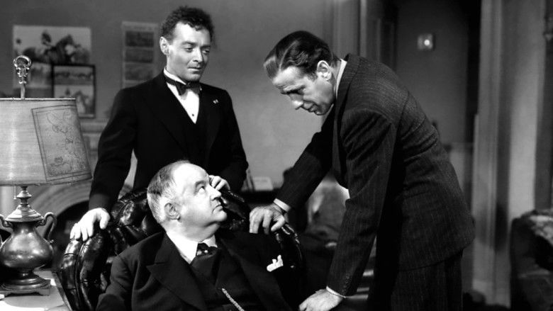 The Maltese Falcon (1941 film) movie scenes