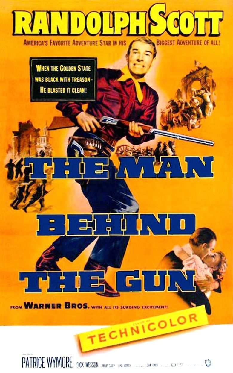The Man Behind the Gun movie poster