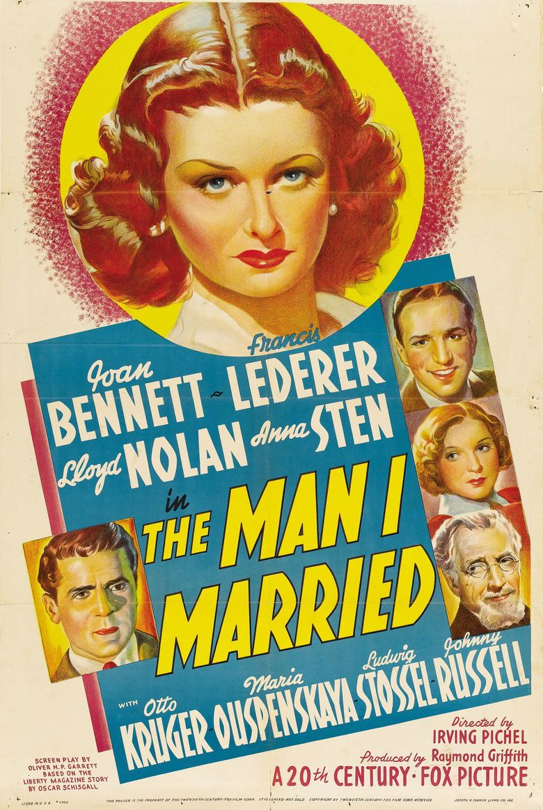 The Man I Married movie poster