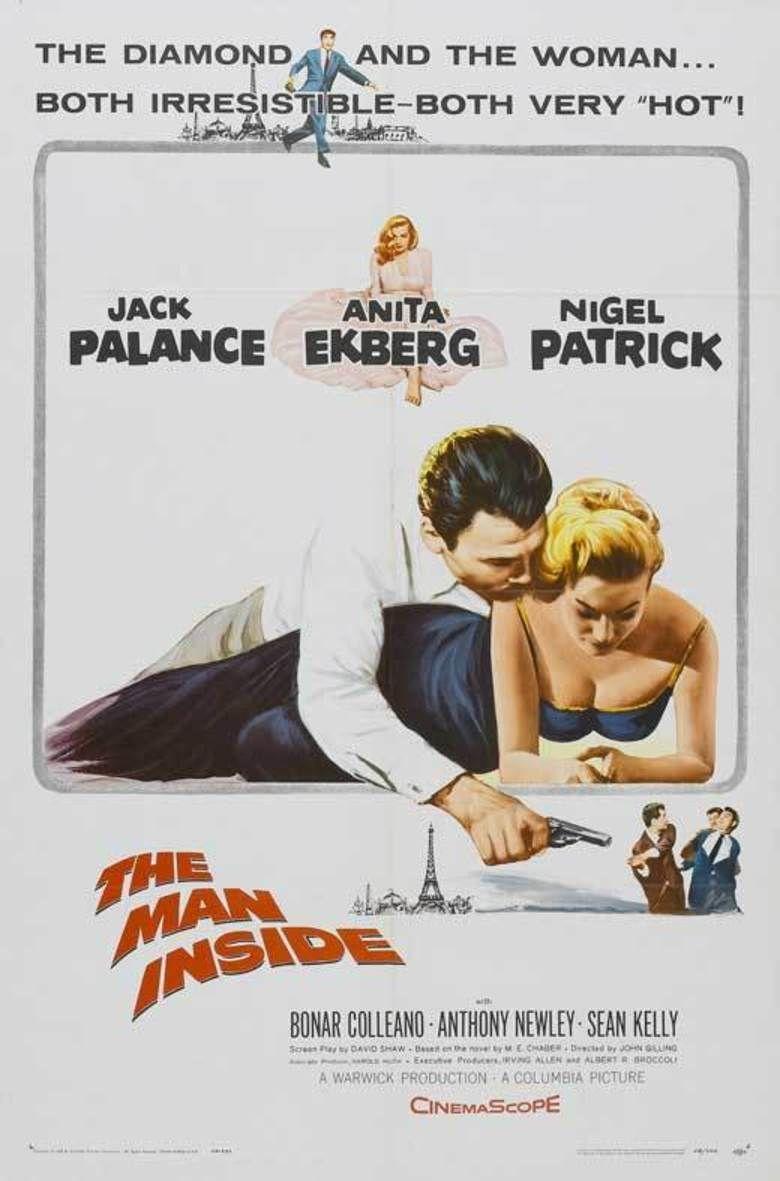 The Man Inside (1958 film) movie poster