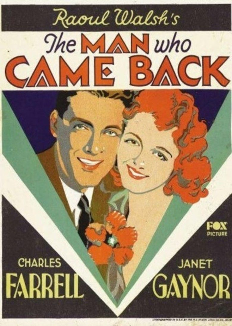The Man Who Came Back movie poster