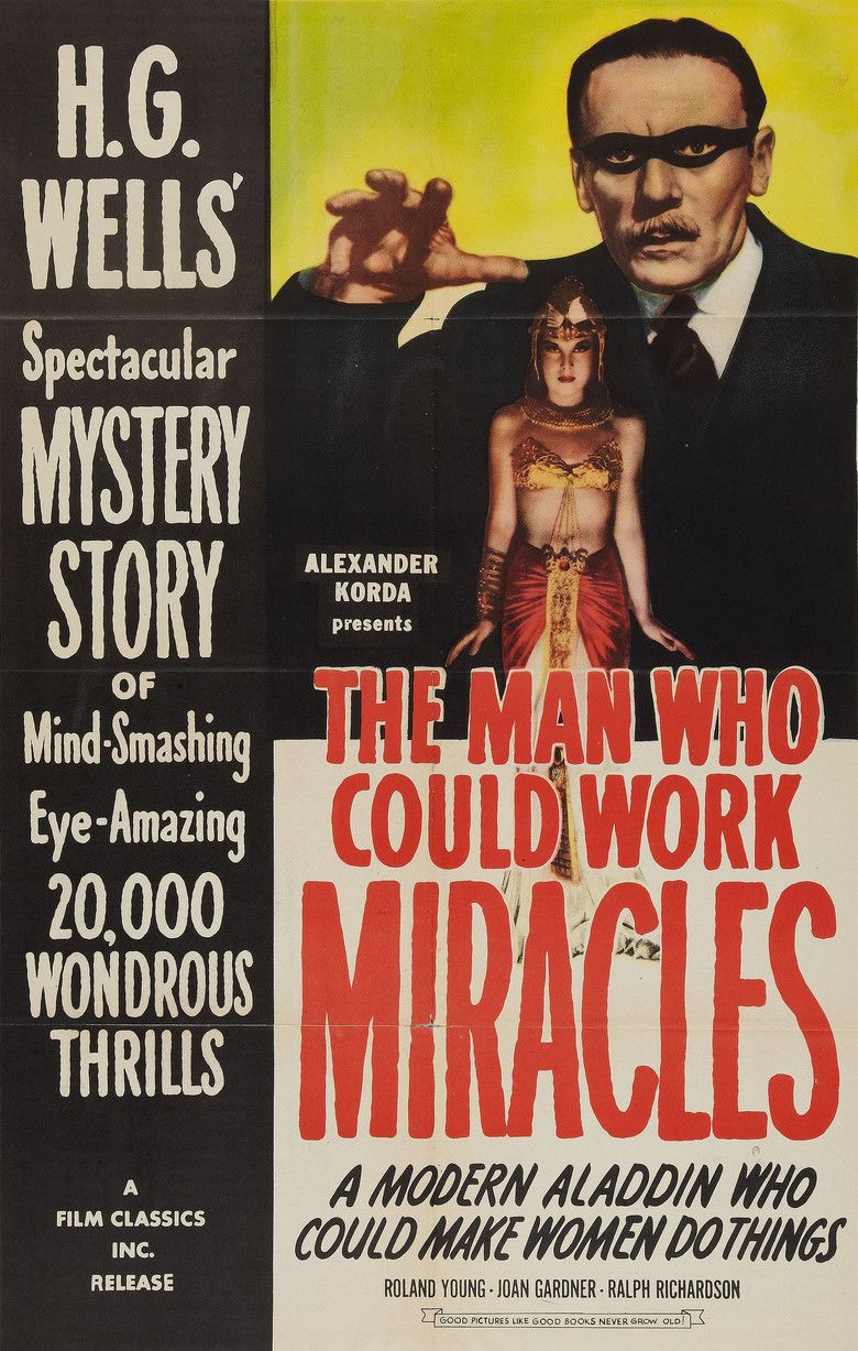 The Man Who Could Work Miracles movie poster