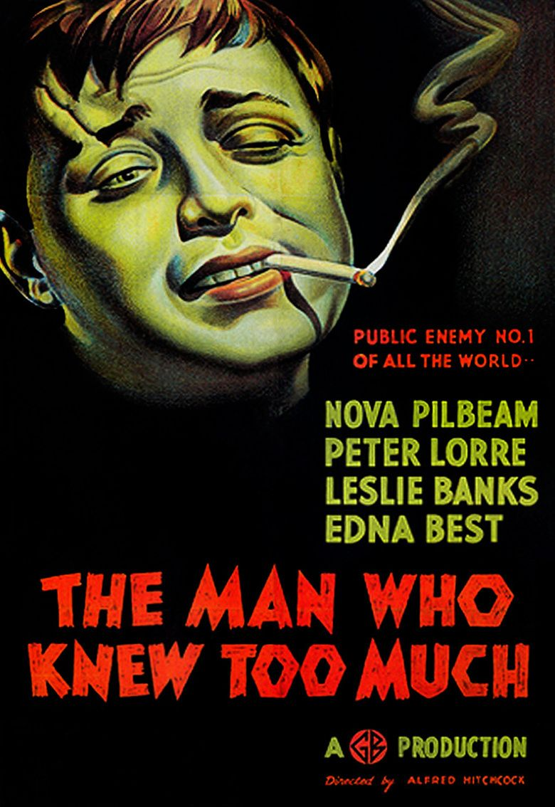 The Man Who Knew Too Much (1934 film) movie poster