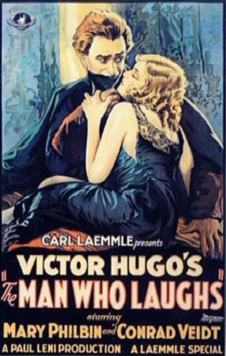 The Man Who Laughs (1928 film) movie poster