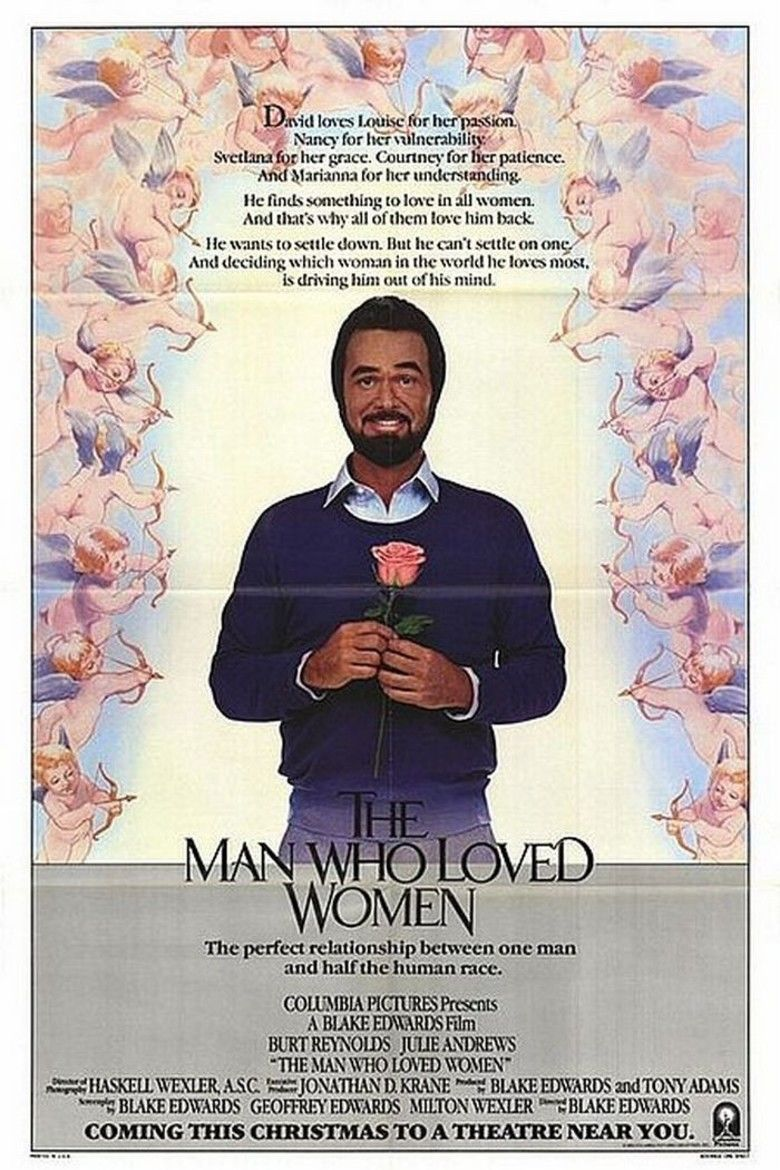 The Man Who Loved Women (1983 film) movie poster