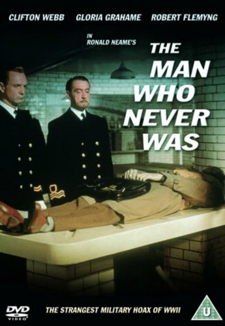 The Man Who Never Was movie poster