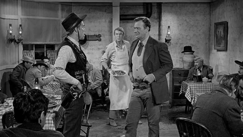 The Man Who Shot Liberty Valance movie scenes