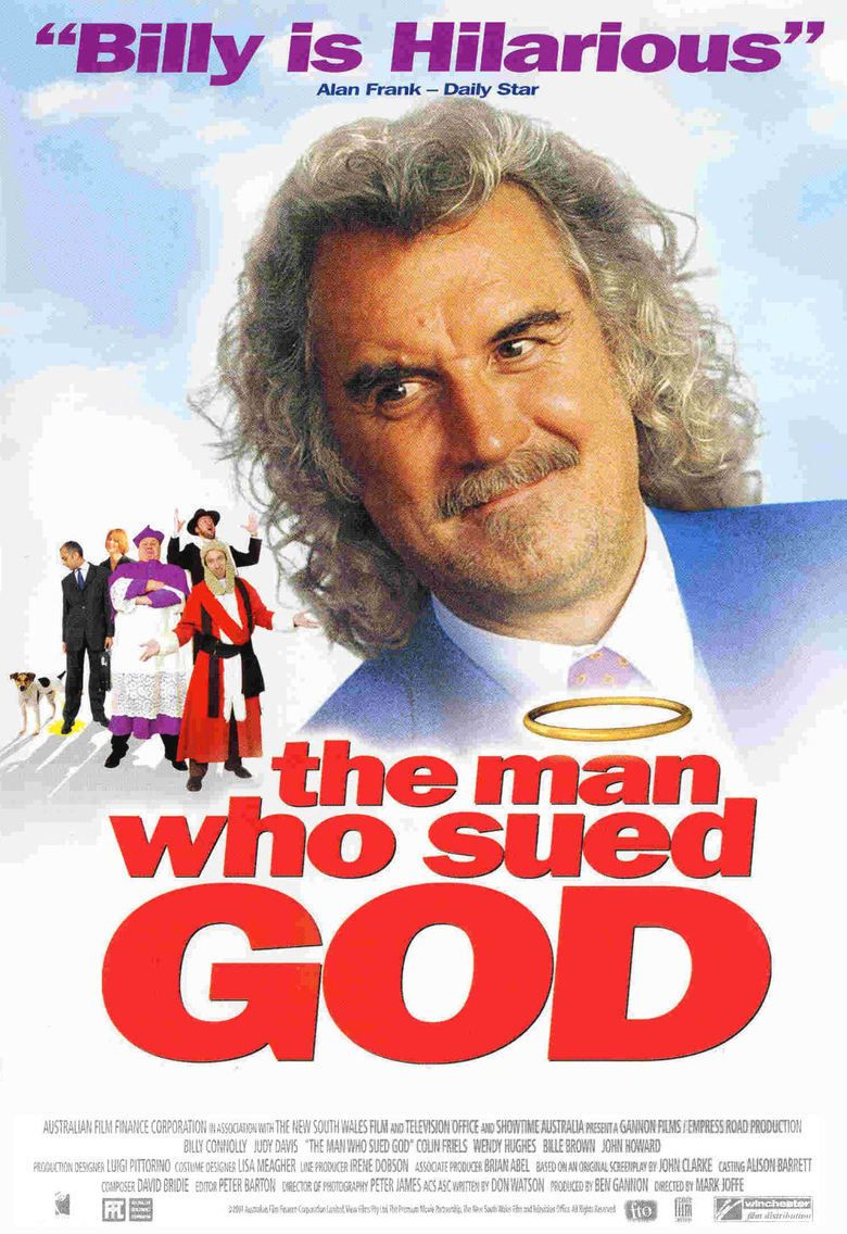 The Man Who Sued God movie poster