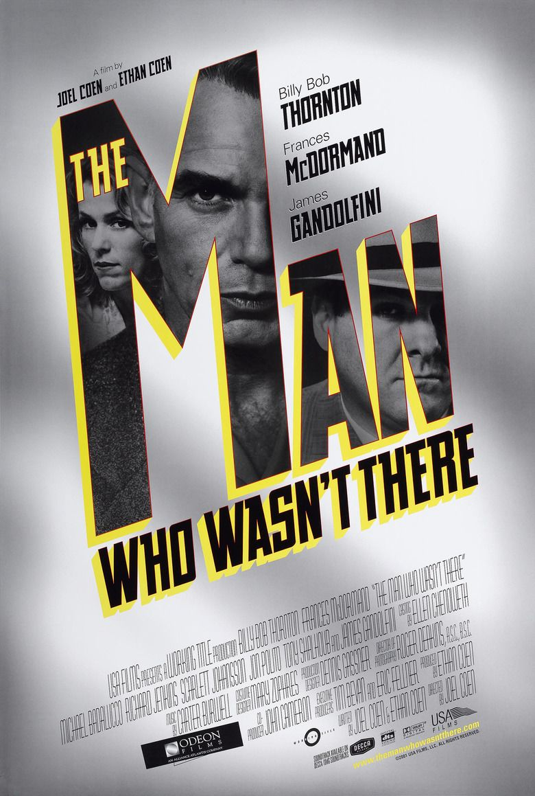 The Man Who Wasnt There (2001 film) movie poster