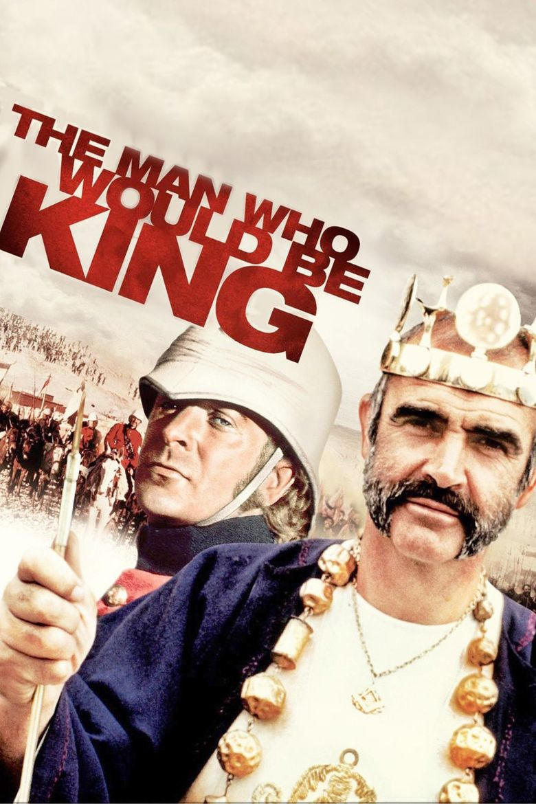The Man Who Would Be King (film) movie poster
