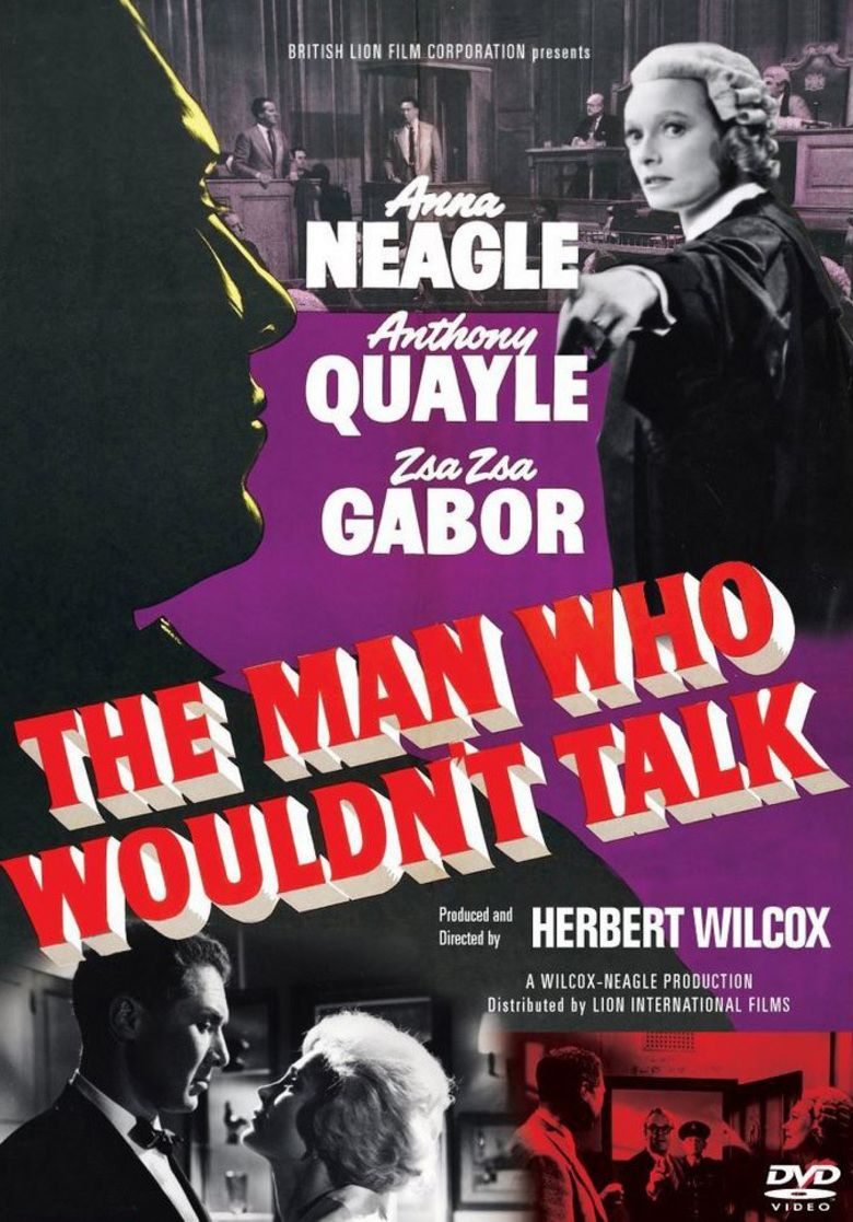 The Man Who Wouldnt Talk movie poster